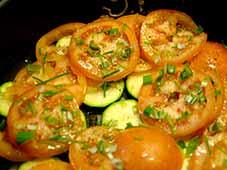 Courgette-met-tomaat