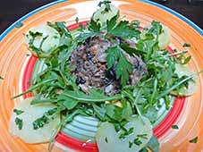 Kabeljauw-salade1
