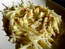 Koolrabi-salade