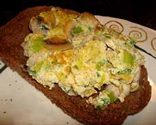 Omelet-champignons