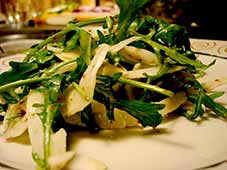 Rucola-peersalade