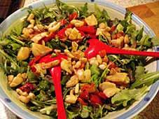 Salade-met-inktvis