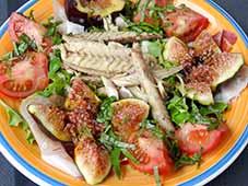 Salade-van-vijg-en-vis