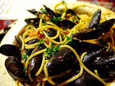 Spaghetti-met-mosselen