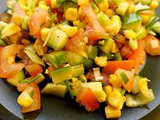 Mais-en-meersalade