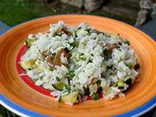 Groene-rijst